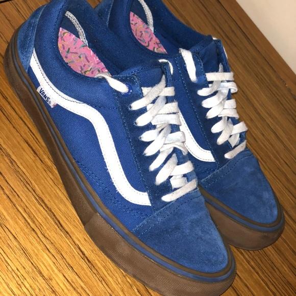 09f9167e4c81b7 Vans-oldskool Gumsole) Olympian Blue Medium Gu. M 5a5fb19005f4305226570e8a